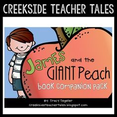 The great gilly hopkins reading comprehension questions pinterest james and the giant peach book companion a mega resource pack fandeluxe Images