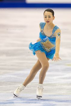Mao Asada (JPN), MARCH 29, 2012 - Figure Skating : Ladies Short Program during the ISU Figure Skating World Championship 2012, at Palais Des Expositions, Nice, France, (Photo by Enrico Calderoni/AFLO SPORT) [0391]
