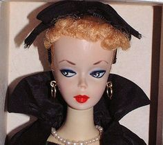 #1 Ponytail Barbie, listed as a Dressed Sample Doll, wearing Easter Parade.  She received 3 bids and sold for $7,650.