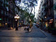 El Born paikassa Barcelona, Cataluña