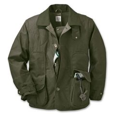 Filson Shelter Waterfowl Upland Coat Otter Green LG 10091