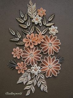 13 Paper Quilling Design Ideas That Will Stun Your Friends 3d Quilling, Quilling Jewelry, Paper Quilling Cards, Paper Quilling Flowers, Paper Quilling Tutorial, Paper Quilling Patterns, Paper Crafts Origami, Quilling Ideas, Quiling Paper