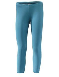 3/4-Leggings Maja von Deerberg in blau | Deerberg pazifikblau