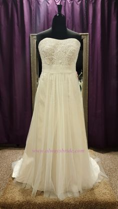 Davids Bridal #9WG3586 - Always A Bride Wedding Consignment, Grafton, WI