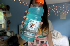 blue gatorade. ♡ the best thing on the face of the earth