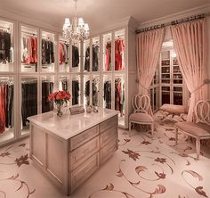 Luxury Designer Closets, can I get this in black?