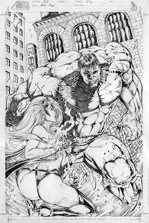 Gleidson Araujo: Hulk & Tempestade