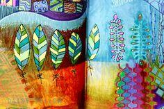 Doodles + Doodles + Doodles - daisy yellow - create explore paint