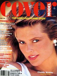 Christie Brinkley -  Cover Model June 1984