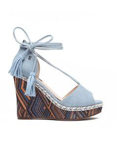 Sandale cu platforma Afrodita Espadrilles, Stuff To Buy, Shoes, Fashion, Espadrilles Outfit, Moda, Zapatos, Shoes Outlet, Fashion Styles