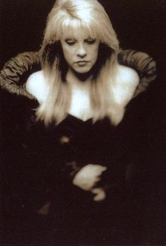 a beautiful, serene photo/portrait of Stevie, 1998  ~   ☆♥❤♥☆       ~    http://goldduststevie.tumblr.com/post/4692557709
