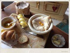 Fresh Homemade Bread Preparation Board  by 2smartminiatures, €35.00