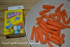 Come Together Kids: April Fools (part 2)! Carrots in a Candy Box