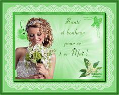 1er Mai Fête du Muguet - Créations Armony Creations, Decor, Spring, Cards, Decoration, Decorating, Deco, Embellishments