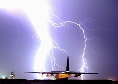 Major Lightning-striking a aircraft