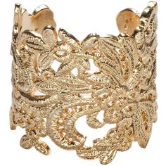 Bonnie Star Lace Cuff ($495) ❤ liked on Polyvore featuring jewelry, bracelets, accessories, pulseiras, bijoux, lace jewelry, holiday jewelry, special occasion jewelry, cocktail jewelry and cuff bangle