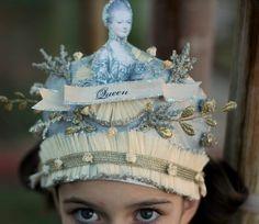 MARIE ANTOINETTE Queen Party Hat.