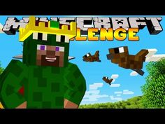 Minecraft Challenge - KING OF THE SKIES! - YouTube
