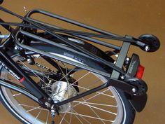 Nitto Rear Rack For Brompton Black « PortaPedal Bike