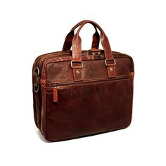 Voyager // Large Triple Gusset Briefcase