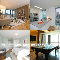 Studio apt for rent in Midtown West at $2,765/mo.Doorman, Elevator, Health Club, Pool, Garage,New Construction, Laundry, Bicycle Room, Lounge, Valet, Roof Deck, WiFi, Common Outdoor Space, Garden, Patio, NO FEE, Walk-In Closet.Contact us for details.Web ID:36243. #NYCApartments #MovingToNYC #NYCrentals #ApartmentHunting #Moving #NYC #NoFeeApt