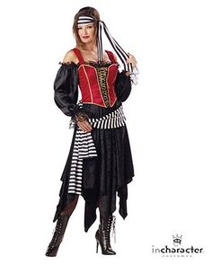 Pirate Lady Premier Adult Costume | Wholesale Pirate Halloween Costume for Women