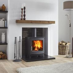 Stove Supermarket's Best Multi-Fuel Stoves of 2020 | Stove Supermarket Stove Fireplace, Fireplace Design, Fireplace Mantels, Fireplace Ideas, Corner Stove, Wood Fuel, Multi Fuel Stove, Pellet Stove, Wood Burning Patterns