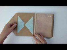 [Scrap] Un album photos avec des enveloppes kraft - YouTube
