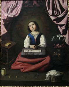 The Young Virgin, ca. 1632–33 Francisco de Zurbarán (Spanish, 1598–1664) Oil on canvas; 46 x 37 in. (116.8 x 94 cm)