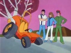Speed Buggy - I used to love this show. The main character is a goofy buggy that has a few friends always with him. I liked the way Speed Buggy talked.