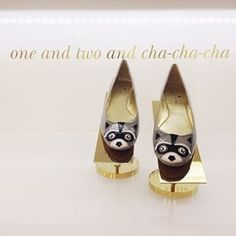 One and two and cha-cha-cha  #wishlist Melina Souza - Serendipity <3  http://melinasouza.com/  #Kate Spade  #Melina Souza  #Shoes