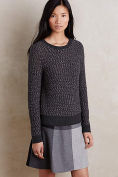 Like the texture on this sweater!
