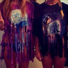 Walmart DIY fringe shirt by Bailey