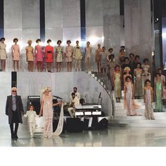 Chanel 2014 S/S bridal finale