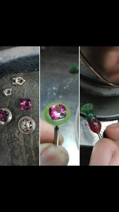 Wax Carving, Jewelry Organization, Garnet, Vintage Jewelry, Vintage Fashion, Beautiful Women, Silver Rings, Gemstones, Earrings