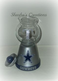 Dallas Cowboys Candy Jar