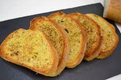 Pan de ajo receta casera