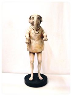 ゾウの体をもった人間