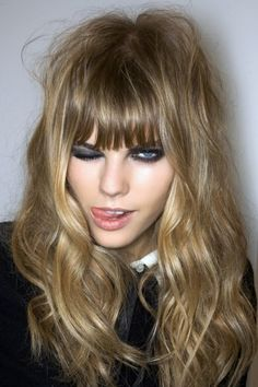 Love her hair  Maryna Linchuk at Gucci FW 08