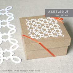 Four Petals Lattice - SVG & DXF files for digital cutters