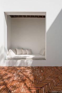 onion sala ayutthaya boutique hotel curved brick walls white thailand designboom