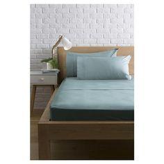 queen bed sheet set 225tc glacier kmart