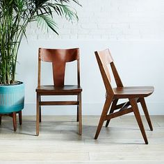 Michael Robbins Cantilevered Dining Chair + Sets #westelm