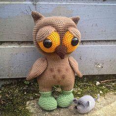 crochet hibou crochet tricot tricotage mignon nounours animal planet amigurumis ii amigurumi teddy bear websta instagram