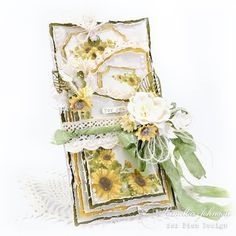 """Hello Everyone! I'm excited to share with you today, my first card featuring the new Pion Design collection """" Summer Falls into Autumn """"! Vintage Cards, Vintage Paper, Romantic Cards, Fall Cards, Flower Images, Autumn Summer, Hello Everyone, Collage Art, Special Events"""