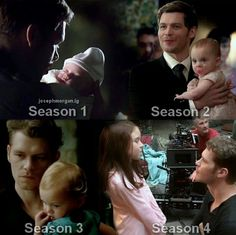 Klaus and hope through the seasons ♥