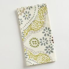 One of my favorite discoveries at WorldMarket.com: Mosaic Tile Napkins, Set of 4