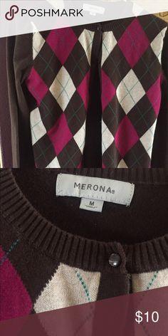 Sz Med cardigan Merona Good condition cute cardigan Merona Sweaters Cardigans
