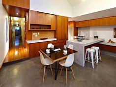 hidden appliances in modern finishes