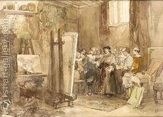 Rochussen, Rembrandts atelier